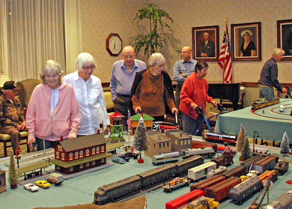 Holiday Toy Train Show