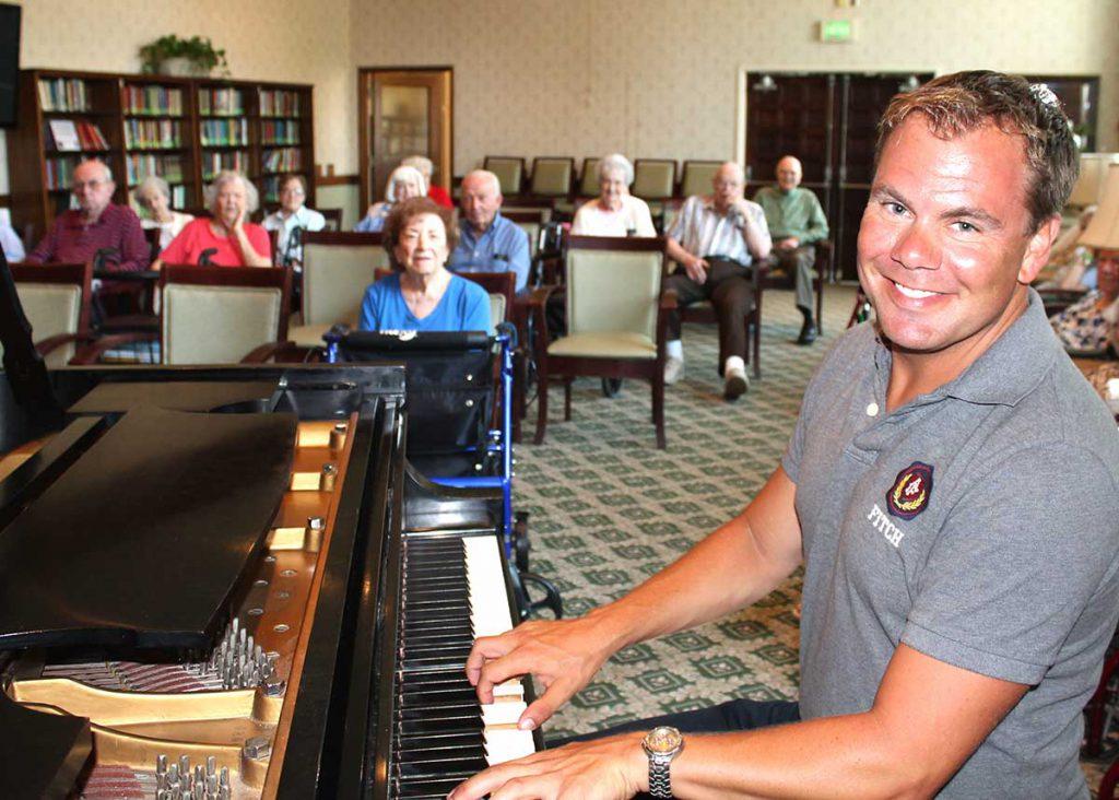 Piano with Fredrik